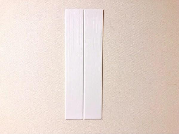 ダイソーのクッションシート(木目調)ホワイト