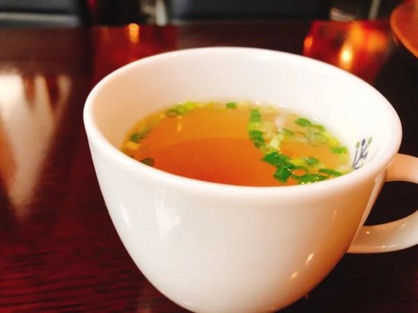 住吉モンキーレンチの日替わりランチのスープ