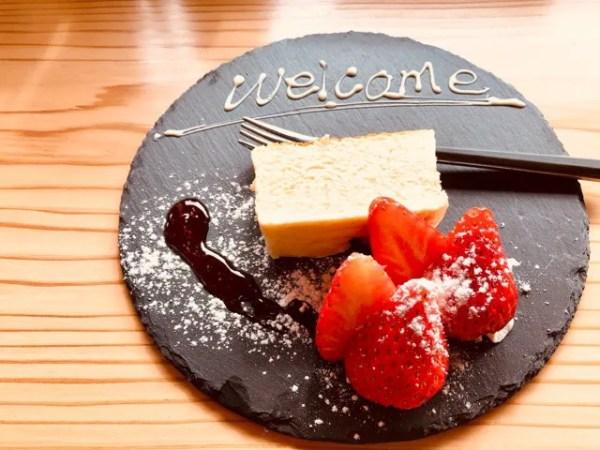 cafe Lepusのデザート「チーズテリーヌ」がまるでクリーム