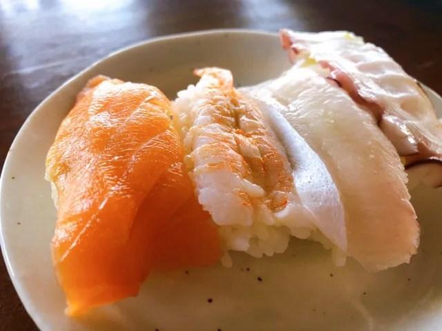 船番所のお寿司も美味しい
