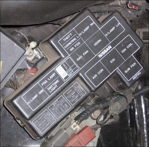 Fuses and Locations for Nissan 300ZX Z32 (199096)