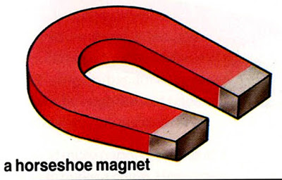 What shape is a magnet? - Horseshoe magnet