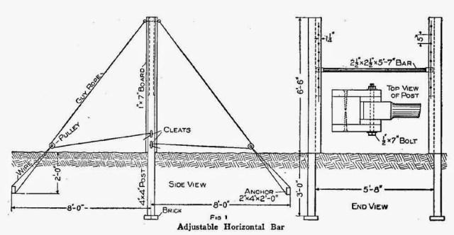 Adjustable Horizontal Bar