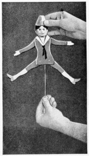 Jumping Jack Toy - Wooden Toy Plans