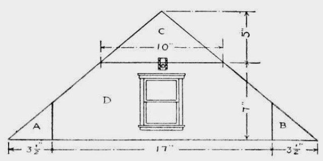 Front Gable-end.