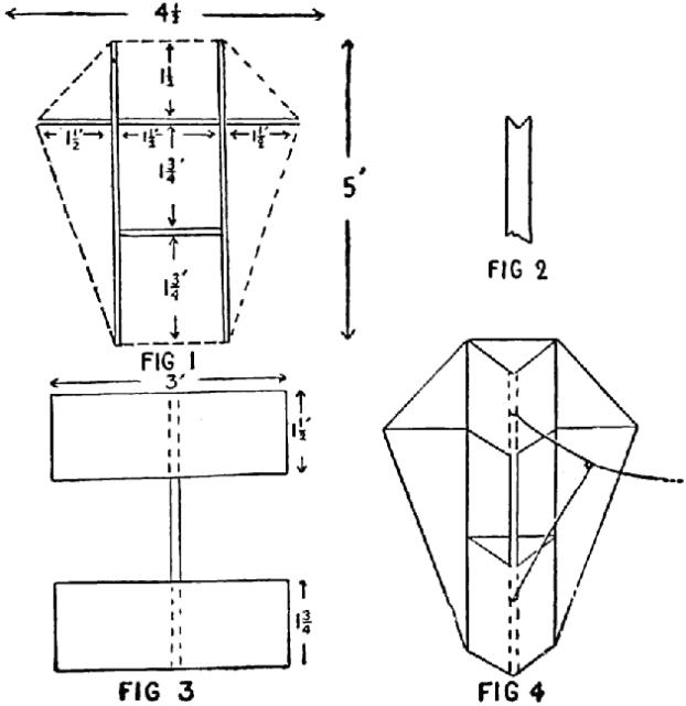 War Kite - How to Make a Kite By Park Snyder - diy plan