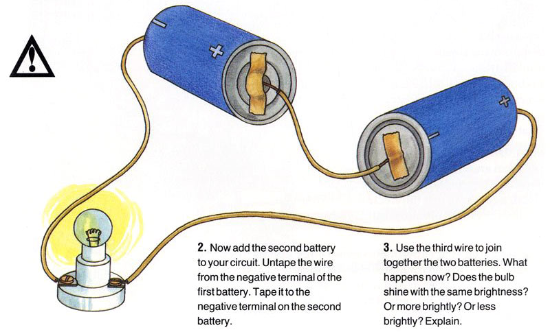 Measuring volts experiment 01