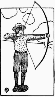 Correct Position for Shooting with bow