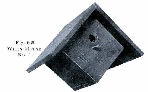 Wren birdhouse plans - How to make a birdhouse out of wood