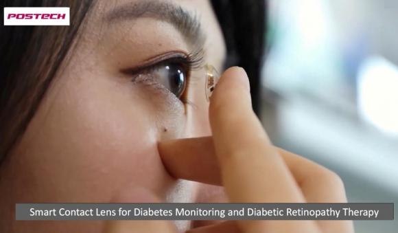 Kan Şekerini Ölçen Kontakt Lensler
