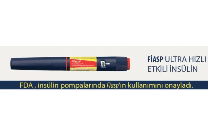 FDA , FİASP'ı insülin pompalarında onayladı.