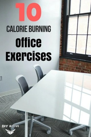 10 Office Exercises You Can Do To Burn Calories