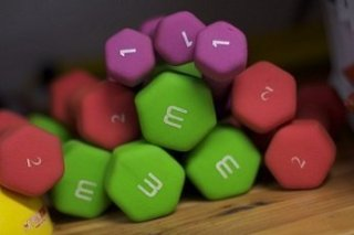 Fitness as you age - weights