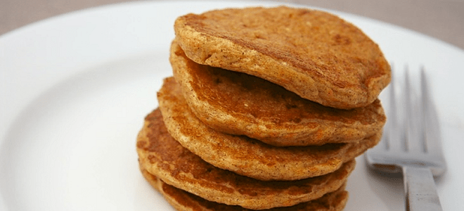 Carrot Cake Protein Pancakes Featured