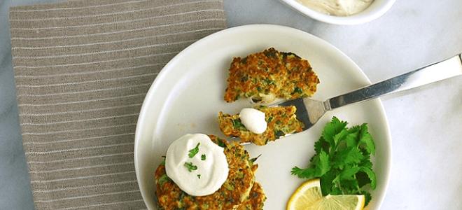 Zuchini Quinoa Fritters Featured