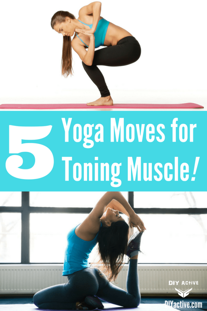 yoga moves for toning muscles