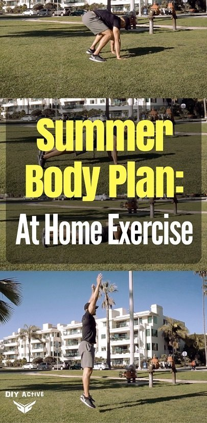 Summer Body Plan: At Home Exercise