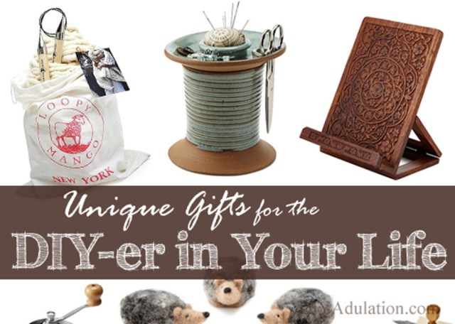 Choosing gifts for a do-it-yourself friend is a challenge. From the perfect tools to fun DIY kits, I've got unique gift ideas for the DIY-er in your life. #ad