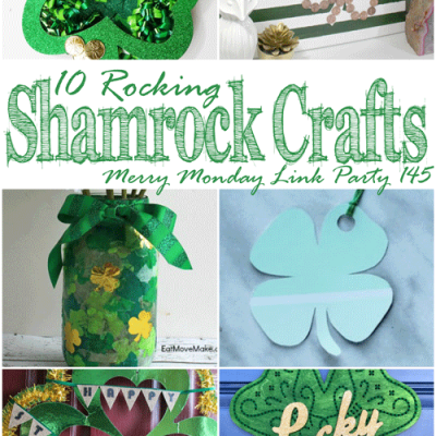 10 Rocking Shamrock Crafts + Merry Monday Link Party 145