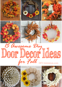 15 Awesome DIY Door Décor Ideas for Fall + MM 169