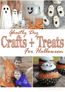 Ghostly DIY Crafts and Treats for Halloween