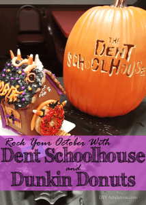 Rock Your October with Dent Schoolhouse and Dunkin Donuts
