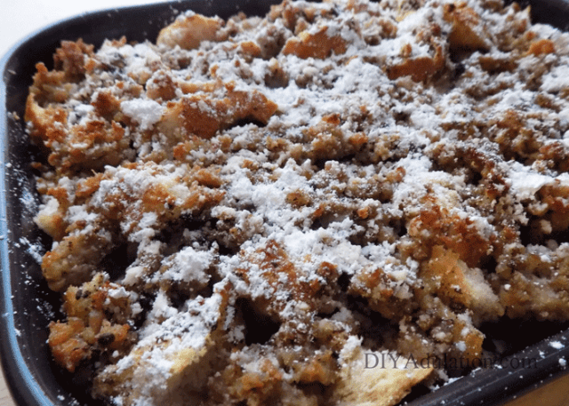 Sausage French Toast Breakfast Casserole
