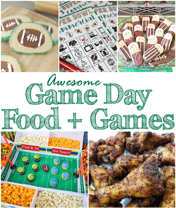 Game day food and games mm 187 diy adulation whether you keep your celebration small or go all out for a big party these forumfinder Images