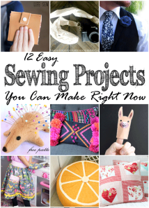12 Easy Sewing Projects You Can Make Now + MM 192