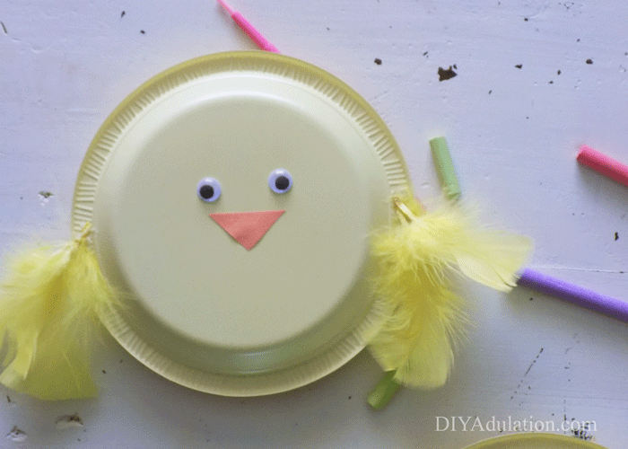 Feathery Baby Chick Noisemaker
