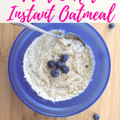Fruit and Nut Instant Oatmeal