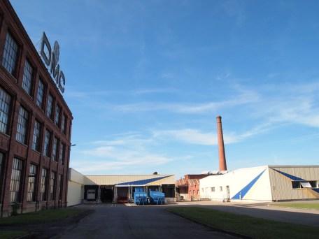 la fabbrica di Mulhouse in Francia