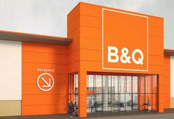Il nuovo B&Q a Bristol presso il Mall Cribbs Causeway