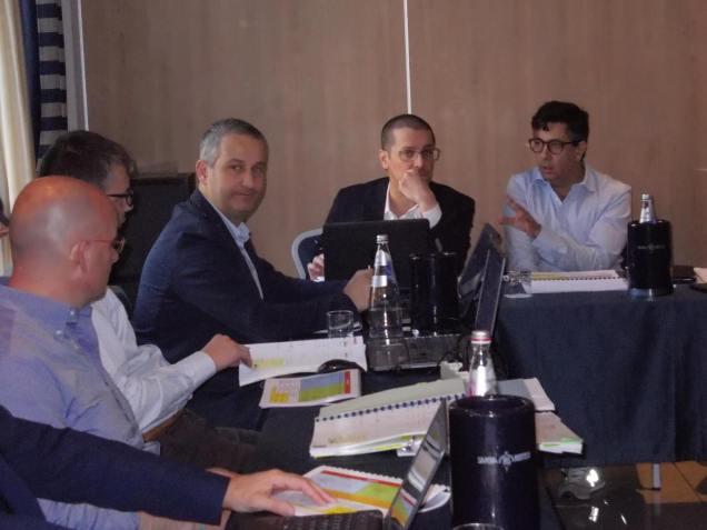 Le riunioni di Sistema. Paolo Micolucci e Roberto Fadda