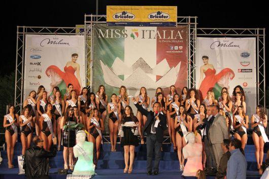 il palco di Miss Italia