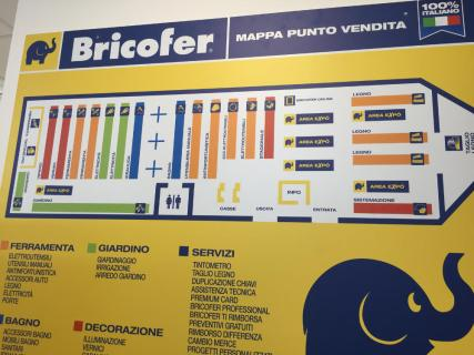 Bricofer city, Roma Marconi