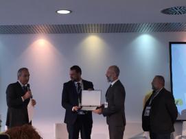 Il premio a Tito Capriccioli di Amatrice