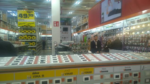 Il nuovo negozio OBI a San Giuliano (MI)