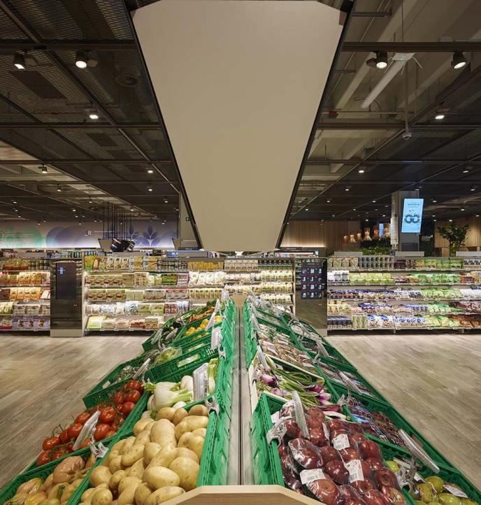 Il Supermercato Coop del Futuro a Milano Bicocca