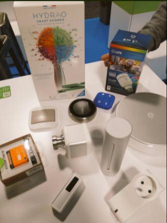 Alcuni prodotti compatibili con Enki, presentati al CES