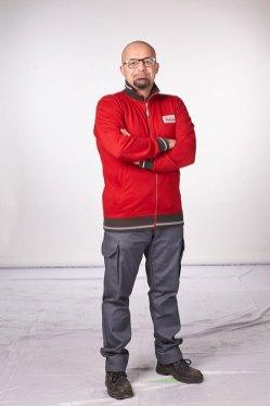 Il direttore del negozio Danilo Compiani