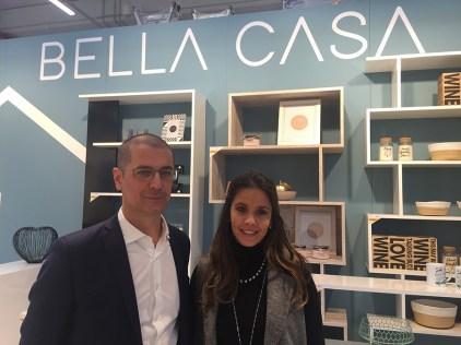 Paolo Micolucci, direttore acquisto Bricoio e Valentina Rigoni, team coordinator www.13casa.com