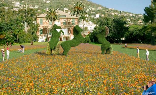 Genova Parchi di Nervi - Wild Horses (rendering)