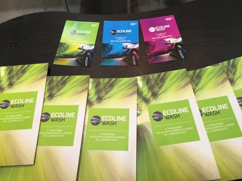 Le gif card proposte da Ecoline Wash