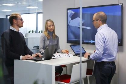 I nuovi spazi rispecchiano la filosofia inspiring working conditions di Bosch