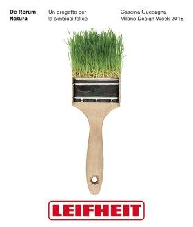 Cartolina De Rerum Natura - L'albero della Cuccagna di Leifheit - Fuorisalone 2018