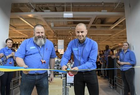 Il nuovo negozio nel centro commerciale Tyresö a Stoccolma
