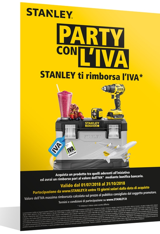 "STANLEY ""Party con l'IVA"""