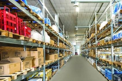 Il centro logistico Thormax a Pesaro
