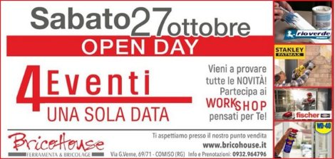 Open Day Brico House 2018